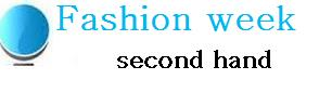Fashion week  second hand online